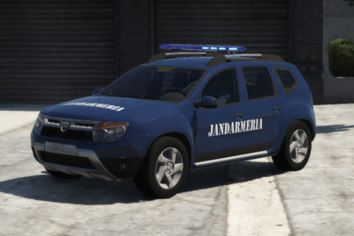 Dacia Duster Romanian Jandarmeria