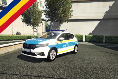 Dacia sandero politia [ELS]