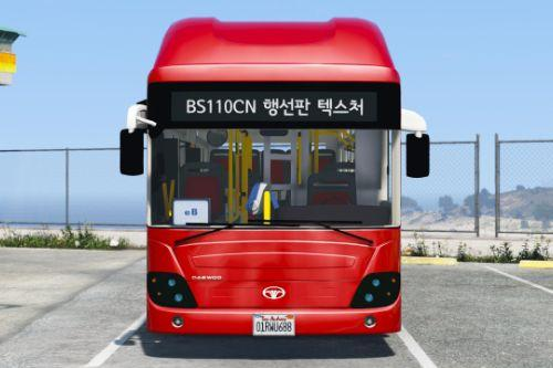 Daewoo BS110CN Bus [Add-On / Replace]