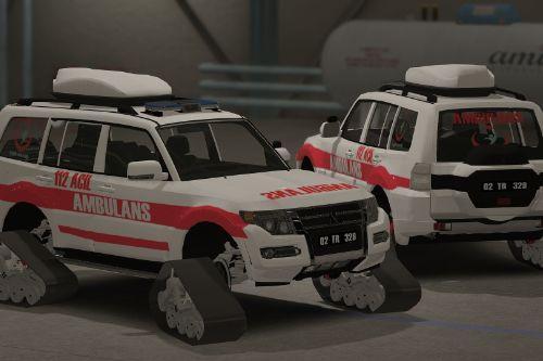 Turkish Snow off road Ambulance  [Replace][ELS]
