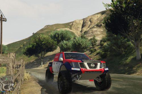 Dakar T1 Nissan Navara [Add-On]