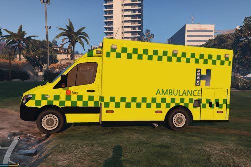 Danish Ambulance 'Region Hovedstaden'