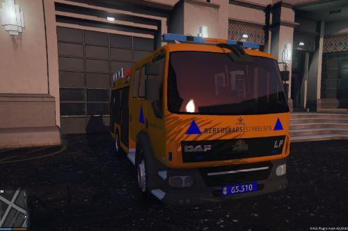 Danish 'Beredskabsstyrelsen' Firetruck