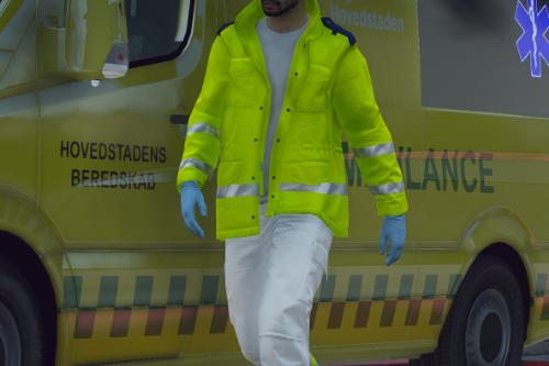 Danish EMS/Beredskab uniform pack [FiveM Ready]