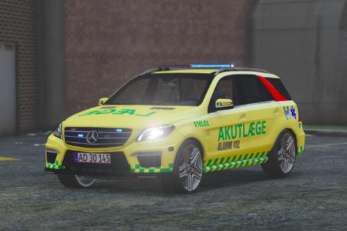 Danish EMS Mercedes ML63