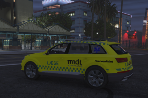 Danish Fictive Emergency Doctor Audi Q7