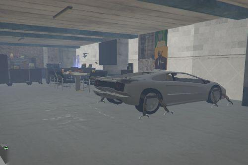 Danish Mechanic Midt by [FiveM/Singleplayer] [Menyoo]