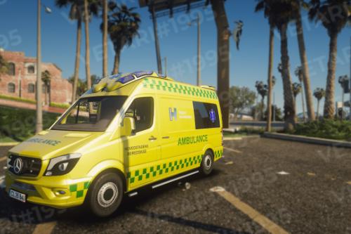 Danish Mercedes Ambulance