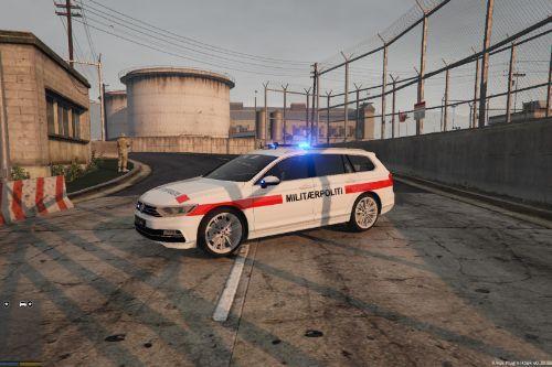 Danish Military Police Volkswagen Passat
