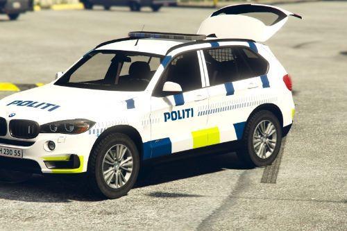 Danish Police BMW X5