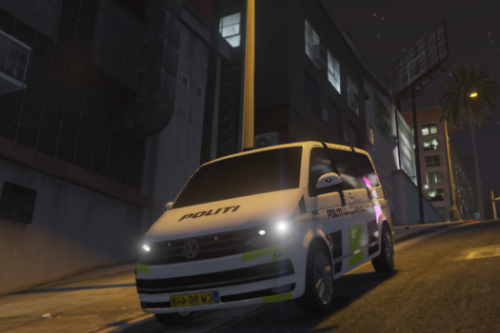 Danish Police Incident Commander VW T6 Multivan