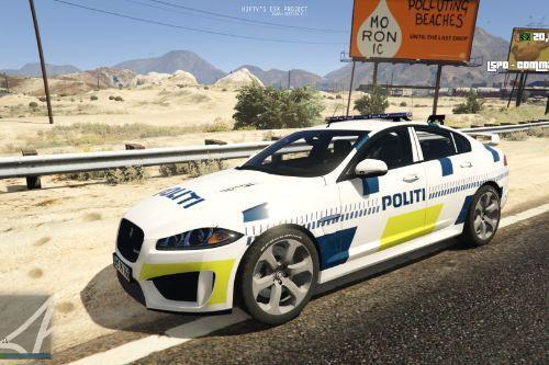 Danish Police - Jaguar XFR [ELS] [ADDON] [FiveM]