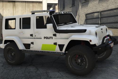 Danish police Jeep Wrangler 2014 [non-ELS|ELS] REPLACE