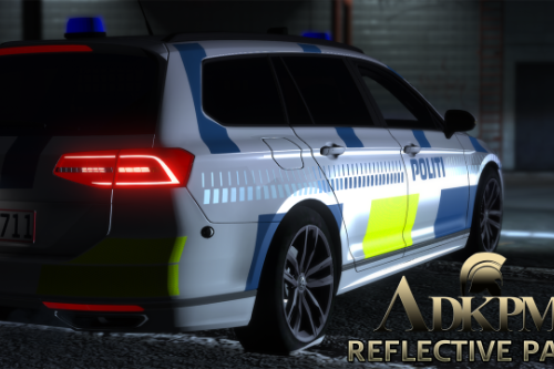Danish Police - Reflective Pack - [OIV/Replace]