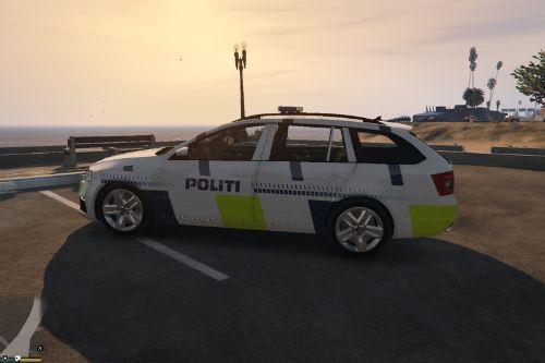 Danish Police Škoda Octavia