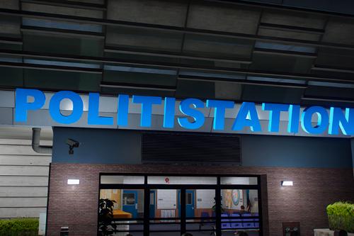 Danish Policestation Sign | MRPD [YMAP]