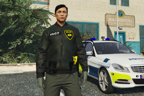 Danish Security Jacket(FiveM)(Singleplayer)