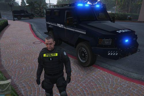 Danish 'SWAT' RIOT Car (Fictional)