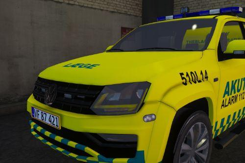 Danish TEMS Doctor Amarok ===Dansk TEMS Akutlæge Amarok===    This mod also has a TEMS addon ped in it
