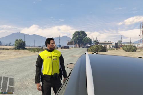 Dansk politi: Sommer MC-betjent jakke