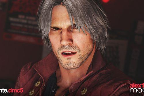 Dante Devil May Cry 5 [Trevor Replacement]