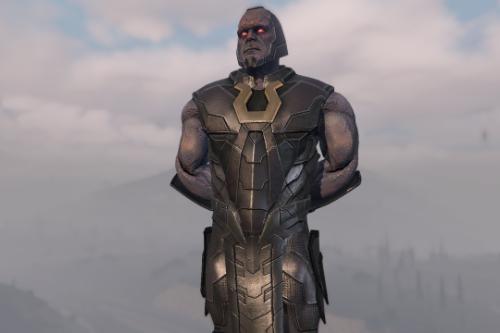 Darkseid: Lord Of Apokolips w/Cloth [Add-On Ped]