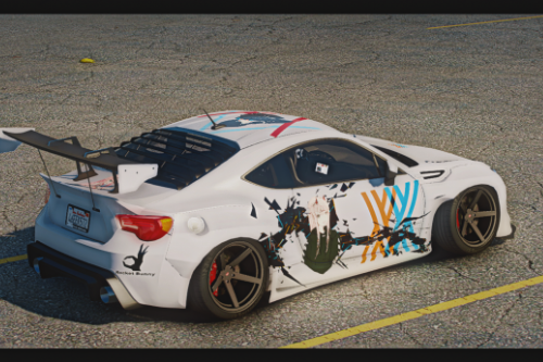 Darling in the Frankxx BRZ rocket bunny