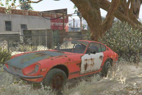 Datsun 240Z 1972 barn find
