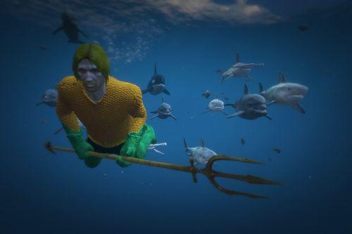 Dc's Aquaman and Black Manta [Add-On Ped]