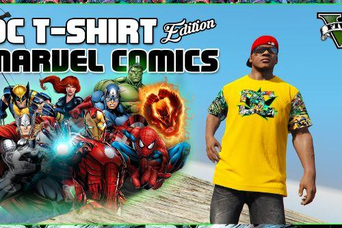 DC T-Shirt ''Marvel Comics'' Edition For Franklin [#1]