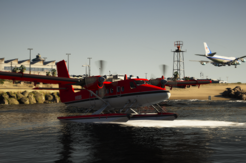 de Havilland Canada DHC-6-300 Twin Otter Seaplane [Add-on I Liveries]