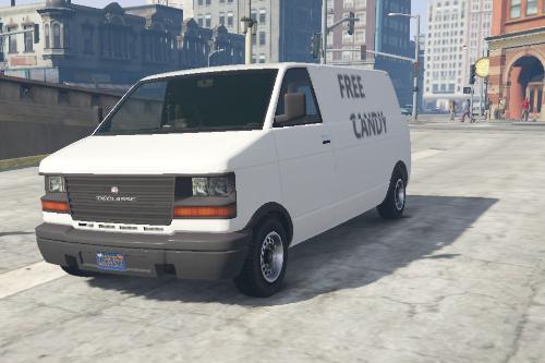 Declasse Burrito Free Candy Van