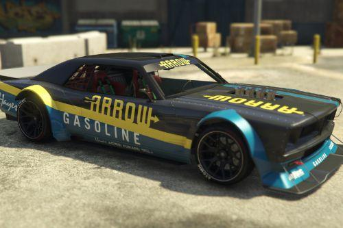 Declasse Drift Tampa Livery Arrow Gasoline