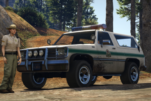 Declasse Rancher - Park Ranger [Add-On | Template]