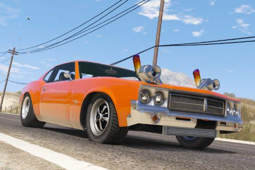 Declasse Sabre Twin Turbo Drag [ Add-On / Replace ]