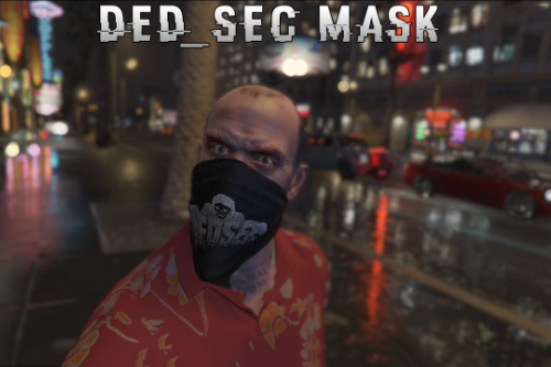 DedSec Bandana Watch_Dogs 2 Trevor