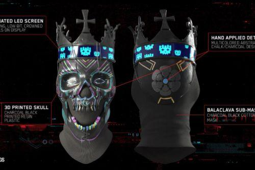 DeDsEc Coronet Mask [Watch Dogs Legion]