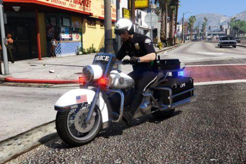 Vanilla Police Bike Mapped [Addon/.OIV]