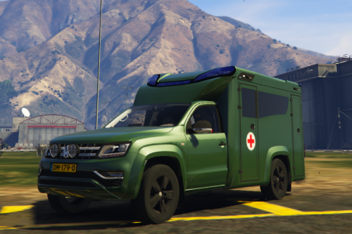 Defensie Ambulance | Army Ambulance | ELS | REAL