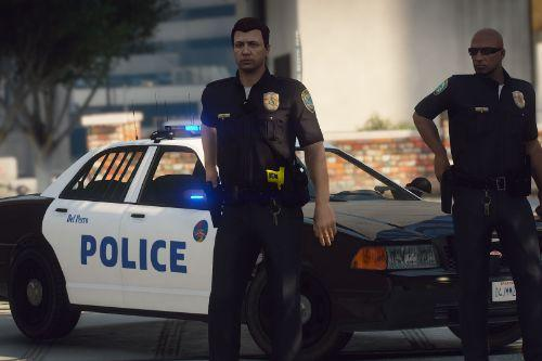 Del Perro Police Department Vehicle Pack [Add-On]
