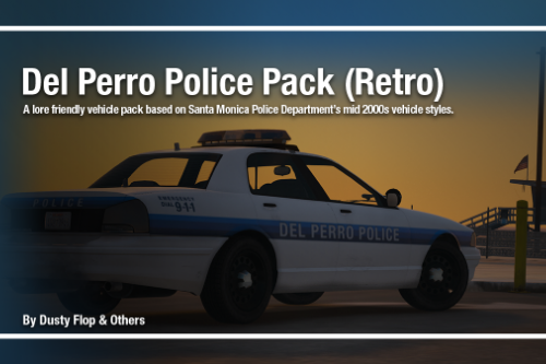 Del Perro Police Pack (Retro Edition) [Add-on]