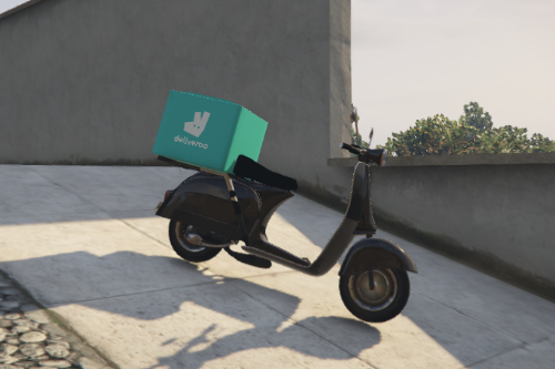 Deliveroo scooter Livery
