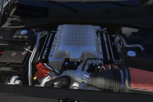 DEMON HEMI SUPERCHARGED V8 SOUND