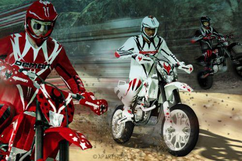 DEMON Motocross  Suits 5K