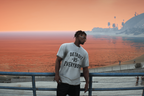 Detroit vs Everybody Loose T-Shirt for MP Male