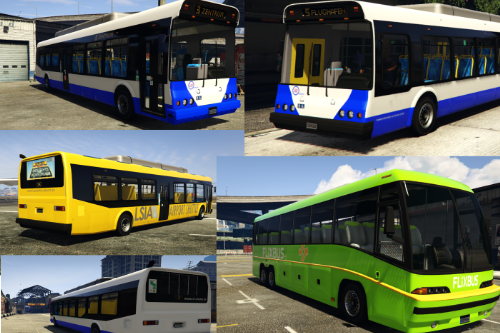 Deutsche Bus-Lackierungen / german bus liveries / LST / Flixbus