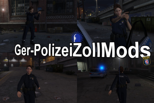 Deutsche Polizistin / German Police Woman