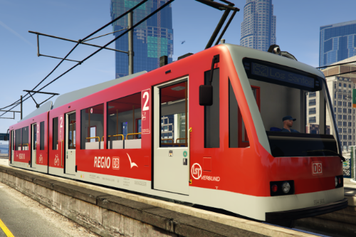 Deutsche S-Bahn DB Regio / German Metrotrain