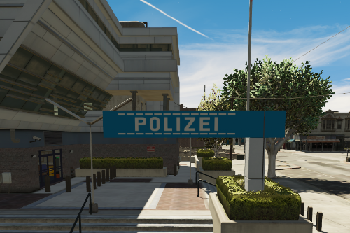 German Police sign Mission Row PD