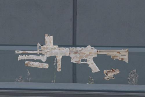 DEVGRU Desert Digital Camo Skin for Jridah's M4A1